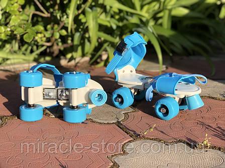 Ролики Квади розсувні Sport 4009 B, фото 2