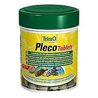 Сухой корм для аквариумных рыб Tetra в таблетках «Pleco Tablets» 120 шт. (для травоядных донных рыб)
