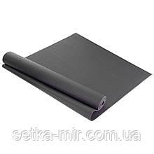Коврик для фитнеса и йоги PVC 4мм SP-Planeta FI-4986 цвета в ассортименте, Черный
