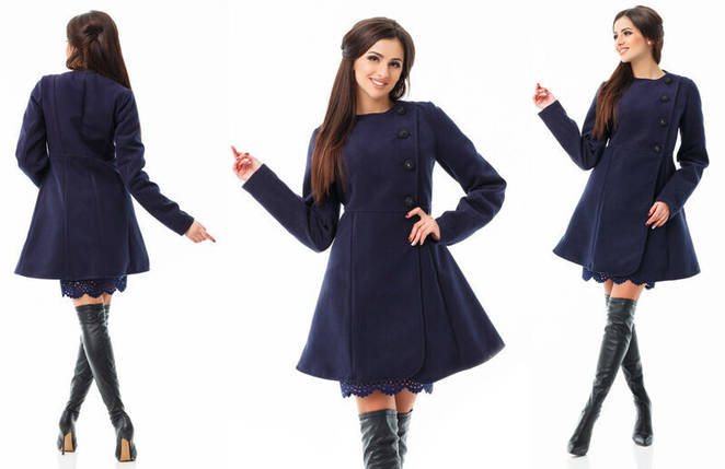 """Невероятно красивое женское Пальтишко на подкладке, ткань """"Кашемир"""" размер 46, фото 2"""