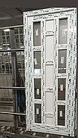 Двери входные из дверного профиля на навесных дверных петлях 800-2000 мм
