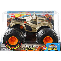 Внедорожник Hot Wheels - Monster Trucks - Steer Clear, 1:24, УЦЕНКА, Монстр трак. Mattel Оригинал