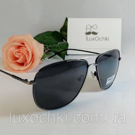 Стильные мужские солнцезащитные поляризованные очки Matrix классика