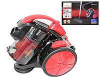 Пылесос колбовый без мешка Crownberg CB-0111 2400W, циклонный мощный пылесос для уборки