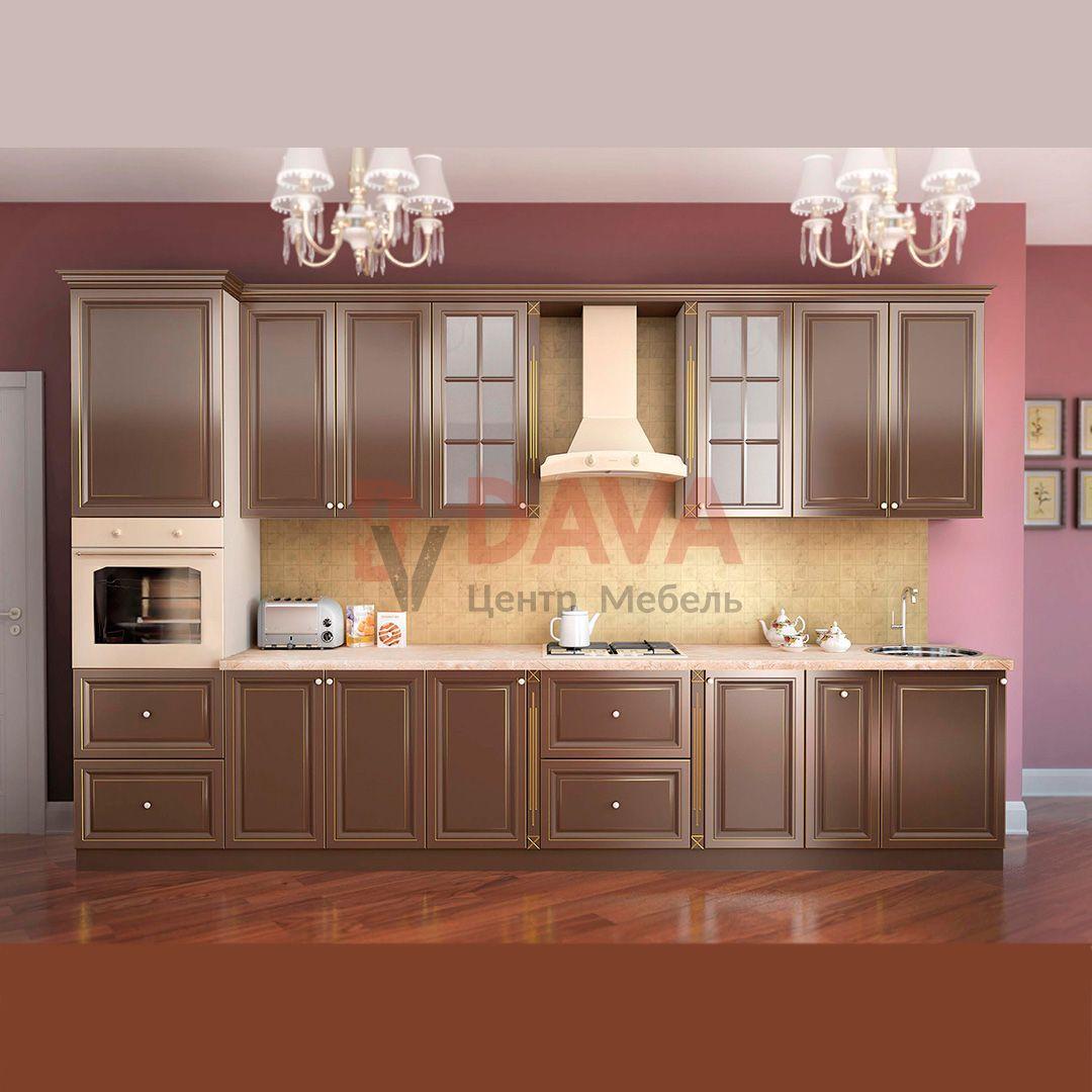 Кухня классического стиля Киевский Стандарт. Крашенные фасады МДФ. Набор 15
