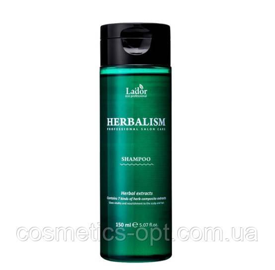 Успокаивающий травяной шампунь Lador Herbalism Shampoo, 150 ml