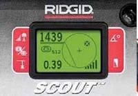 Переносной локатор NaviTrack Scout® для камер и зондов Ridgid