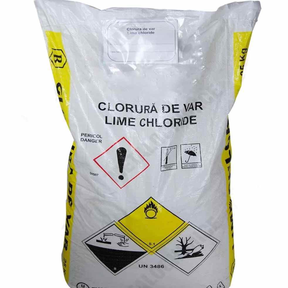 Хлорная известь | хлорка 1 сорт, от 25 кг