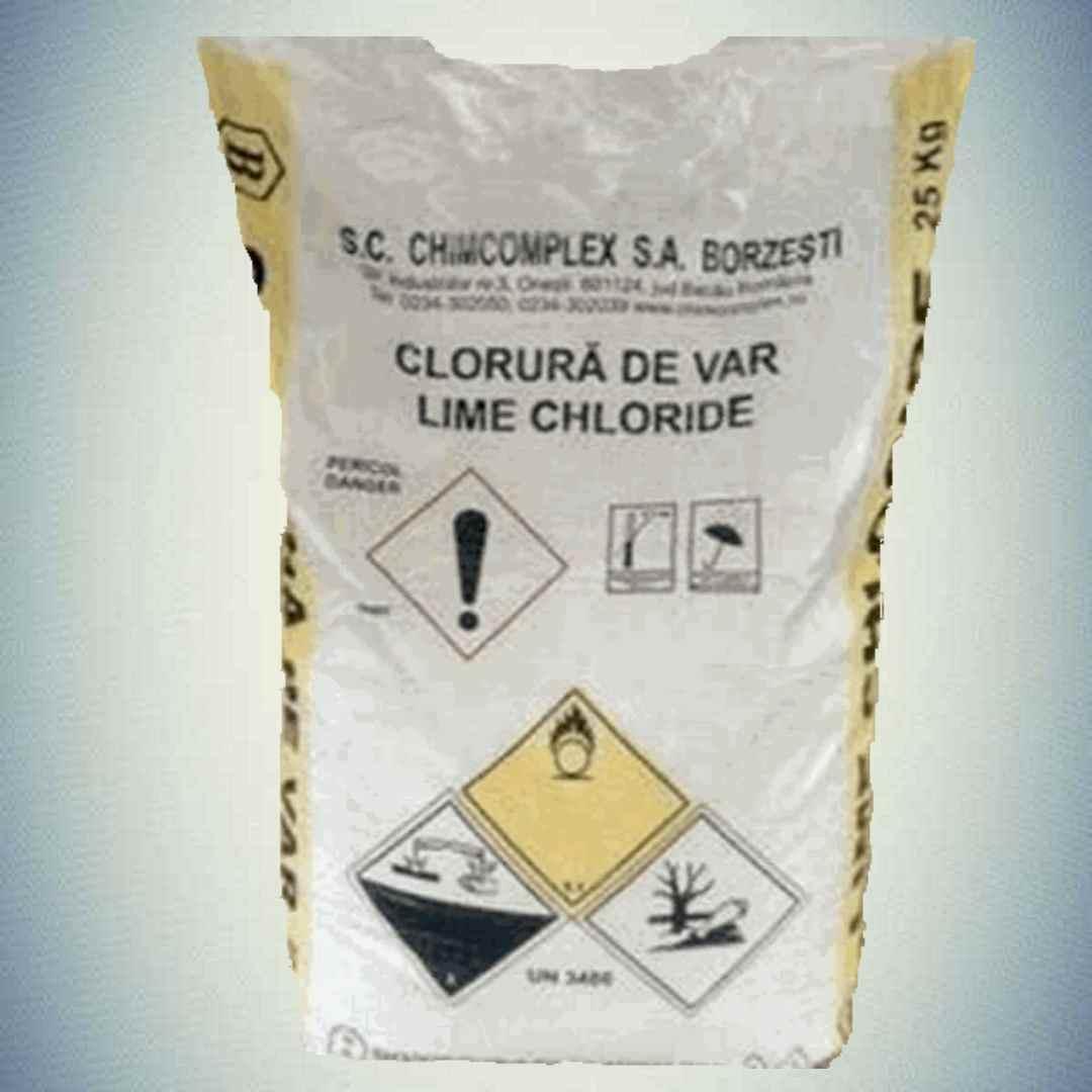 Хлорная / белильная  известь (хлорка) 1 сорт Румыния