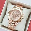 Женские кварцевые наручные часы Pandora Premium в розовом золоте, хронографы - код 1988