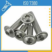 Винты ISO 7380 с полукруглой головкой