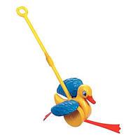 Игрушка-каталка Веселый утенок Quercetti (4180-Q)
