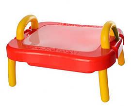 Дитячий ігровий столик-пісочниця
