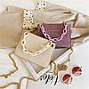Жіноча стильна сумка на ланцюжку