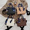 Жіноча стильна сумка з еко-шкіри