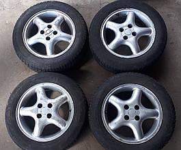 Диски колісні Chevrolet Шевроле Лачетті Нубіра + шини комплект 4шт 205 50 R16
