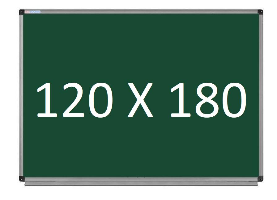 Шкільна дошка магнітно-крейдяна в алюмінієвій рамі 120х180 см UkrBoards. Шкільні дошки крейдяні