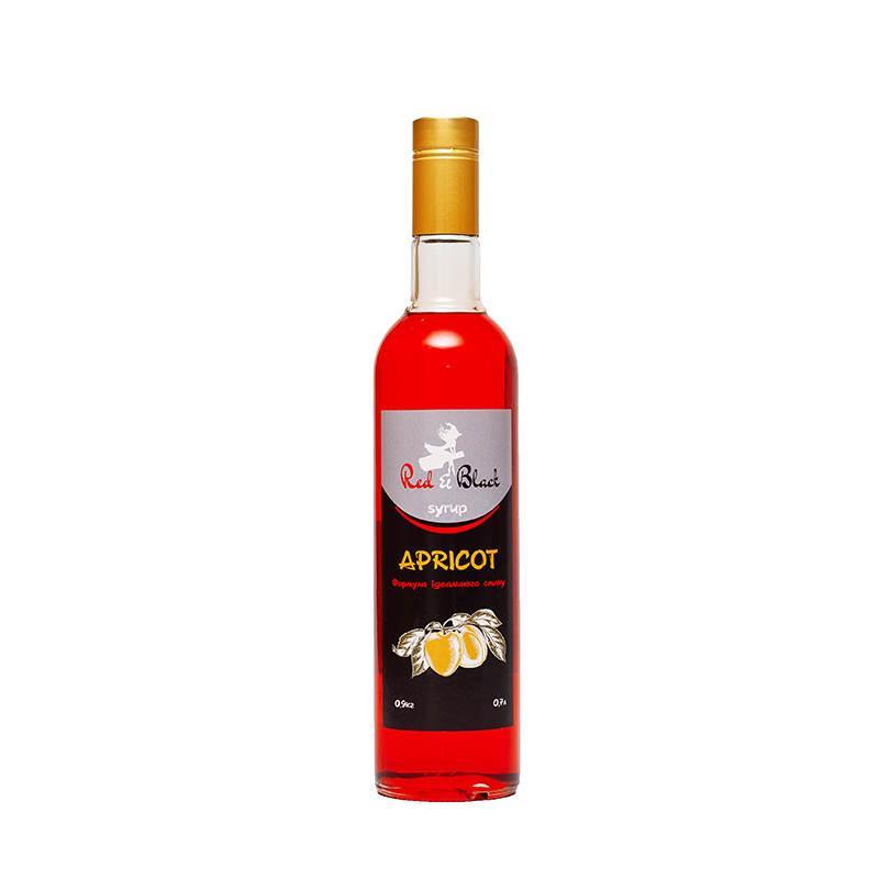 Сироп Red&Bleck (Ред и Блек) Абрикос 0,7л.