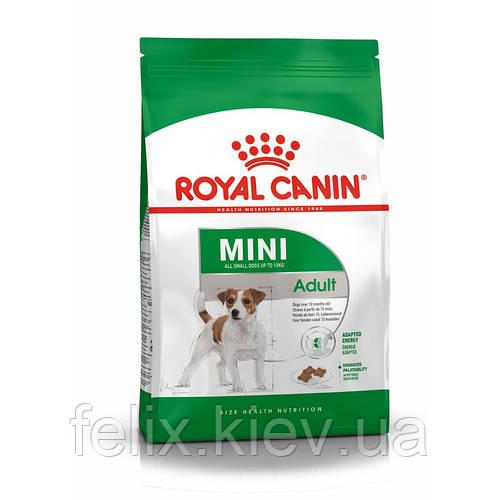 Royal Canin Mini Adult 2 кг - сухой корм для взрослых собак малых и миниатюрных пород Роял Канин Мини Эдалт 2