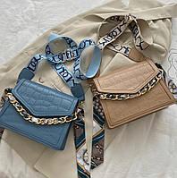 Жіноча стильна сумка з еко-шкіри, фото 1