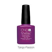 CND Shellac Tango Passion / цвет спелой сливы с микроблеском, 7,3 мл