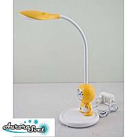 Настольный детский светильник LITTLE. желтый LED светильник. Светодиодный светильник настольный., фото 1