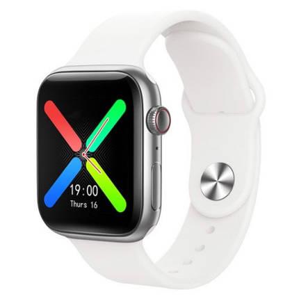 Фітнес браслет трекер Smart watch T500 Plus Розумні спортивні смарт годинник тонометр з мікрофоном для, фото 2