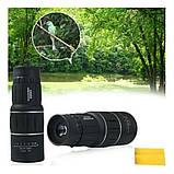 Монокуляр 16х52 и двойным фокусом Подзорная труба Оптический монокль влагозащищенный 8000 м, фото 6
