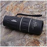 Монокуляр 16х52 и двойным фокусом Подзорная труба Оптический монокль влагозащищенный 8000 м, фото 9