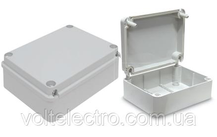 Монтажна коробка з гладкими стінками 190х145х80 IP67