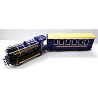 Модель Технопарк Паровоз с вагоном (свет, звук) (CT10-038)