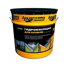 Мастика битумно-резиновая AQUAMAST (АкваМаст) для гидроизоляции кровли (18 кг)