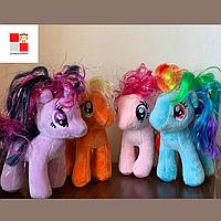 Мягкая игрушка лошадка Май Литл Пони My Little Pony единорог