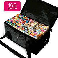 Профессиональные маркеры Touch Multicolor 168 цветов для художников, Фломастеры для рисования скетчей