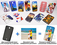 Печать на чехле для Microsoft Lumia 430 Dual Sim (Cиликон/TPU)