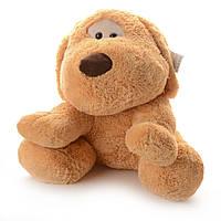 Мягкая игрушка  Собачка  коричневая  50 см IF288A