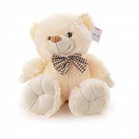 Мягкая игрушка  Медвежонок  белый 30 см IF286B