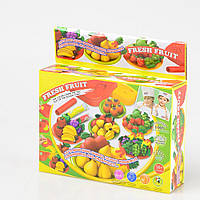Детский набор для лепки с формочками (Фрукты и овощи) IE536