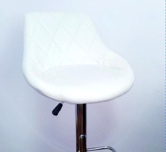 """Барный стул HOKER  BONRO TOLEDO  с Подставкой для ног(120 кг нагрузка) Белый""""ПОЛЬША"""