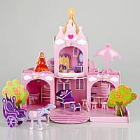 Детский 3D пазл замок принцессы Сисси IE12