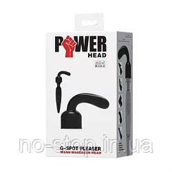 Насадка на вібромасажер - G Spot Pleaser Wand Massager Head Transparent