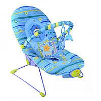 Детское музыкальное кресло (Синий дельфин) IK74