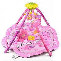 Детский развивающий музыкальный коврик (Подсолнух) IK73