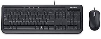 Комплект проводной Microsoft Wired Desktop 600 Black