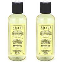 Шампунь  Кхади Мёд и Ваниль, shampoo Khadi Honey vanila, 210 мл