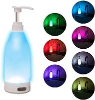 Дозатор Soap Bright Nightlight Soap Dispenser
