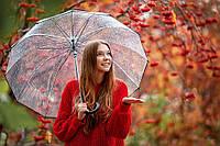Зонтик женский ЛЮКС качества на 16 карбоновых спиц / зонт для фотосессий для свадьбы