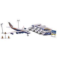 Игровой набор техника и пассажирский самолет со звуком (Аэропорт) IM380