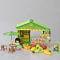 Детский игровой набор магазин (Фрукты) со светом и звуком IM371