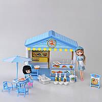 Детский игровой набор магазин (Морепродукты) со светом и звуком IM369